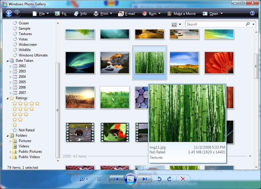Программа просмотра фотографий windows xp скачать